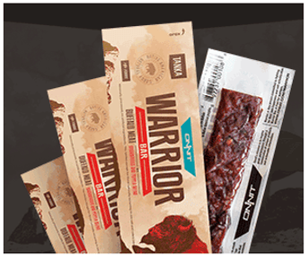 WarriorBar Paleo Friendly Protein Bars Are Making It Easier To Eat Healthy On The Go.