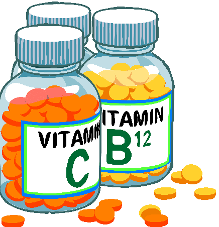 Animated vitamins picture